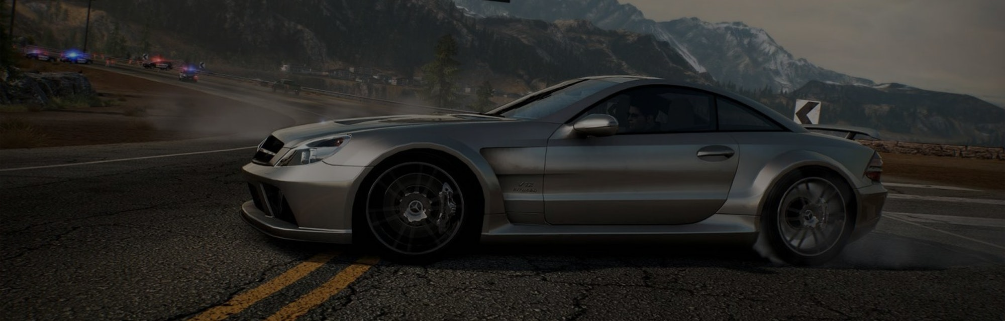 A screenshot of gameplay from Need for Speed: Hot Pursuit remastered