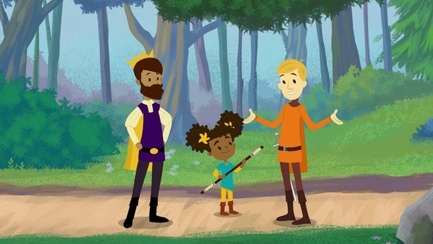 'The Bravest Knight' includes LGBTQ+ representation for kids with Nia's dads.