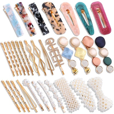 laxizar Hair Clip Set (32 Pieces)
