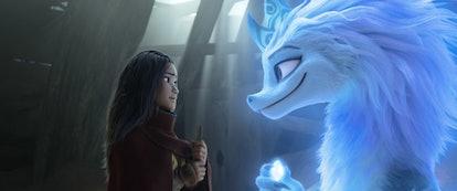 Kelly Marie Tran stars in Disney+'s Raya and the Last Dragon.