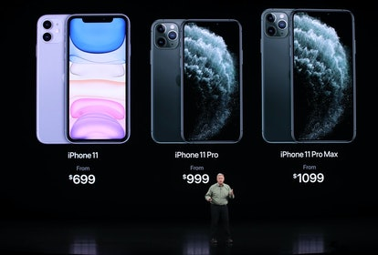 The iPhone 11 can be submerged in a maximum depth of two meters (around 6.6. feet) for up to 30 minutes.