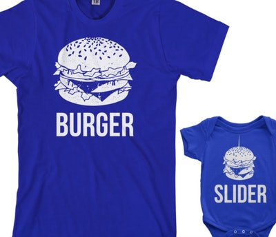 Threadrock Burger & Slider Shirt Set