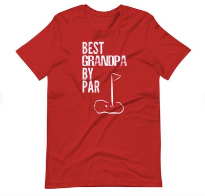 JoshuaTees Best Grandpa By Par