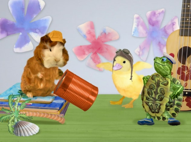 'Wonder Pets' is a series geared towards pre-schoolers from the early 2000's.