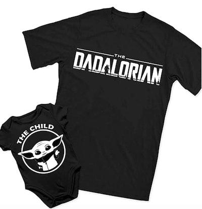 Dadalorian & The Child Shirt Set