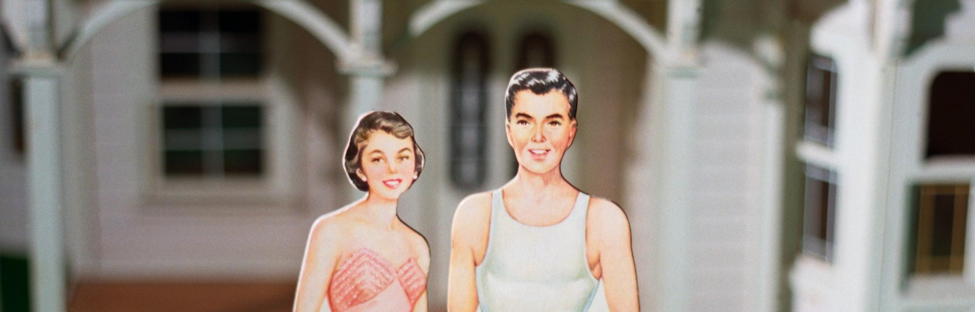 paper doll parents