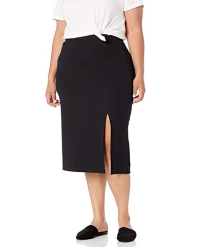 The Drop Veronique Slit Skirt