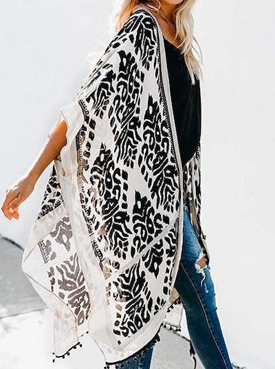 Dokotoo Swimsuit Kimono