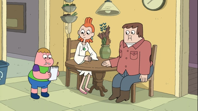 'Clarence' includes several LGBTQ+ characters.