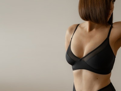 The Sheer Triangle Bralette