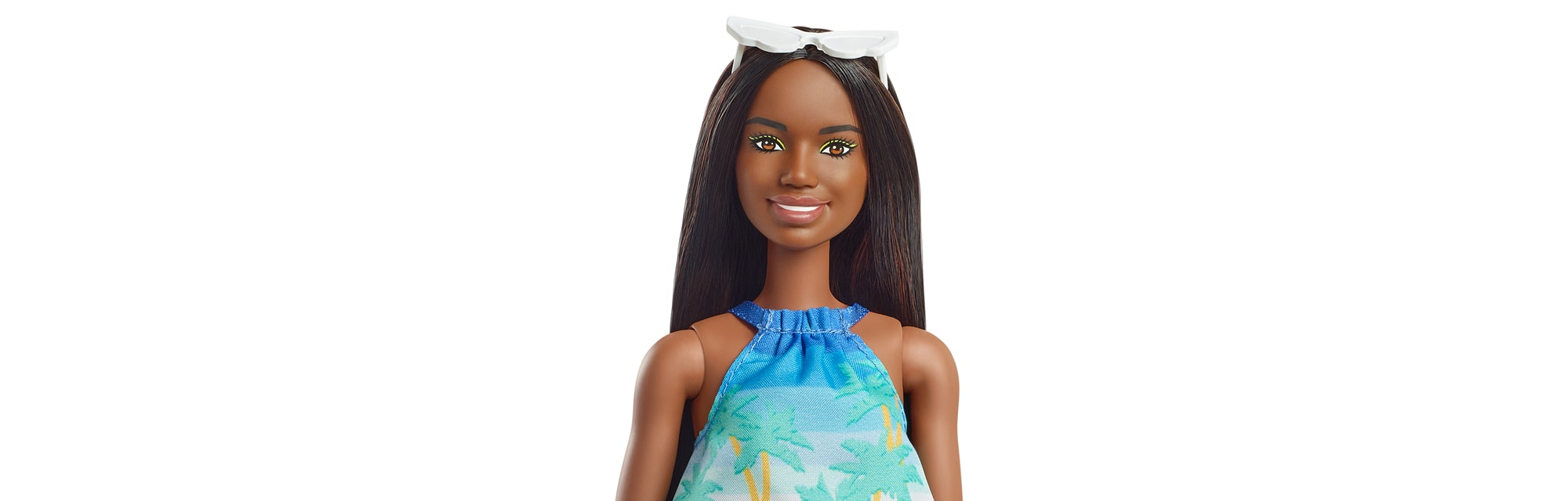 The Barbie Loves The Ocean collection is made of sustainable plastic.