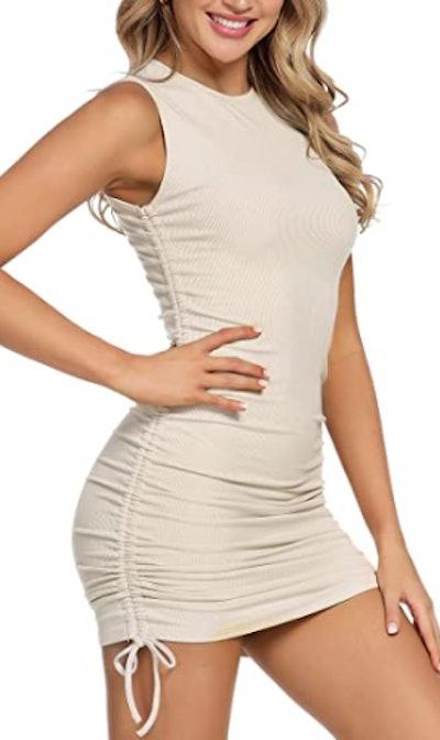 MYHEAT MH Lace Up Dress