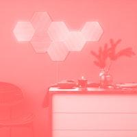 Nanoleaf's new 'Elements' light panels are designed to match your decor