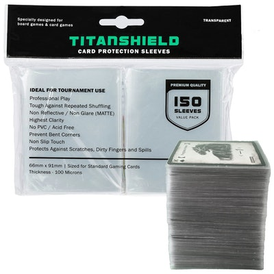 TitanShield Card Sleeves (150 Count)