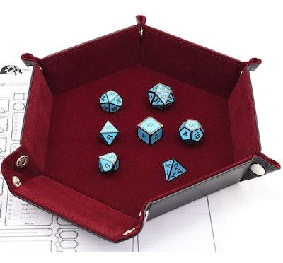 IvyFieldDice Folding Hexagon Tray