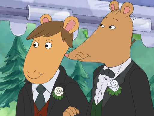 Mr. Ratburn married another man on 'Arthur' in 2019.