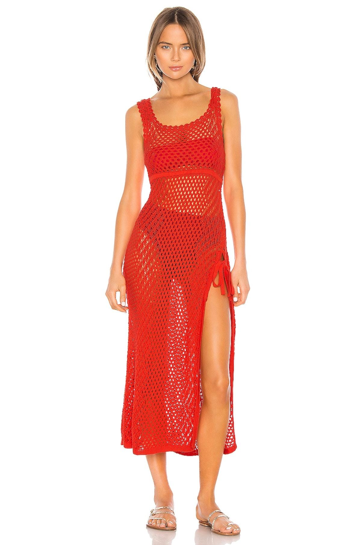 Athena Crochet Dress