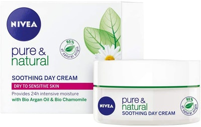 Nivea Pure and Natural Soothing Day Cream
