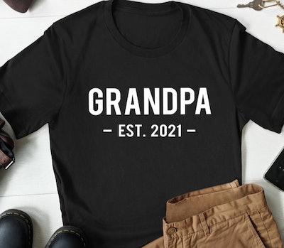 Grandpa Est. Shirt