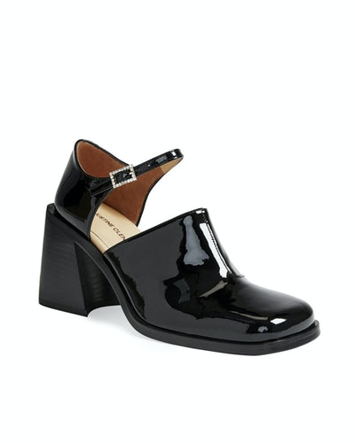 Kate Black Patent Mary-Janes