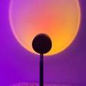 A sunset projector lamp from Instagram. Home goods. Lighting. Decor. Reviews. Product reviews. Design
