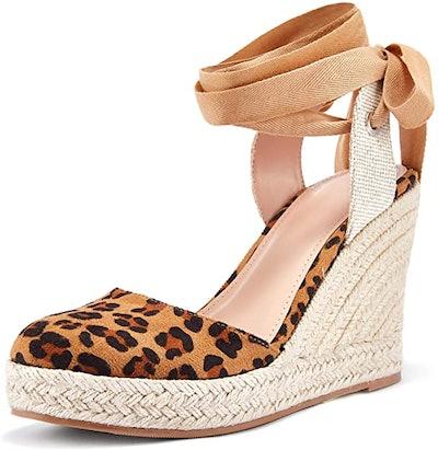 Ermonn Wedge Espadrille Sandals