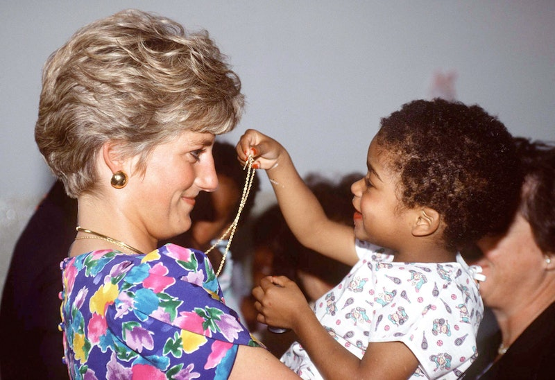 Diana, Princess Of Wales, Holding A Baby At A Hostel For Abandoned Children In Sao Paolo, Brazil
