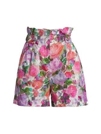 Blossom High-Waist Shorts