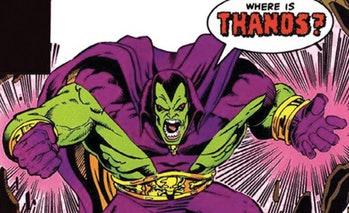 drax comics early appearance