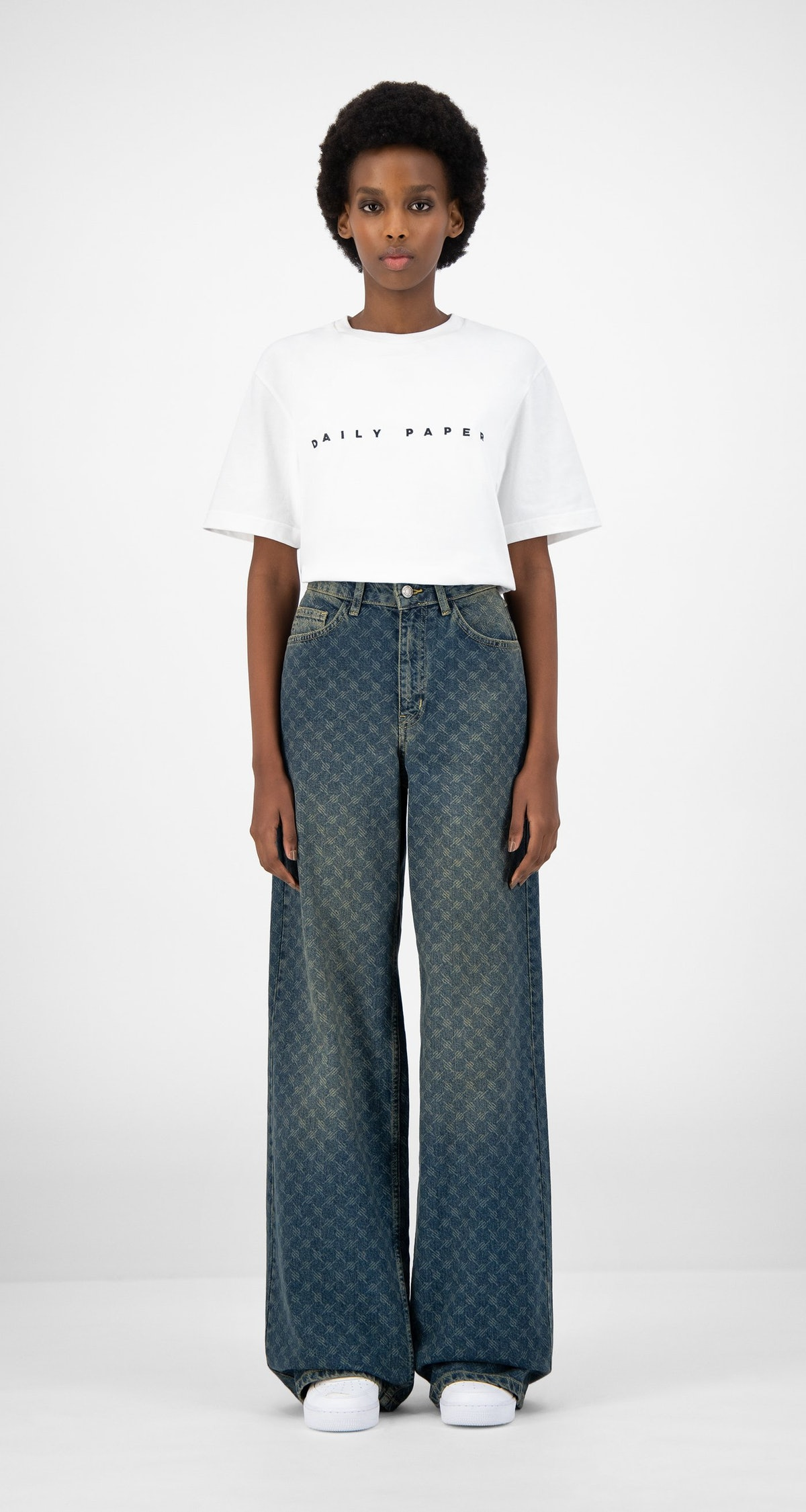 Vintage Blue Kikir Pants