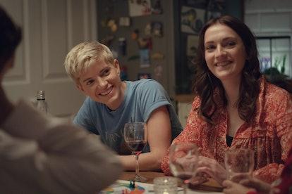 Mae and George in 'Feel Good' Season 2 via the Netflix press site