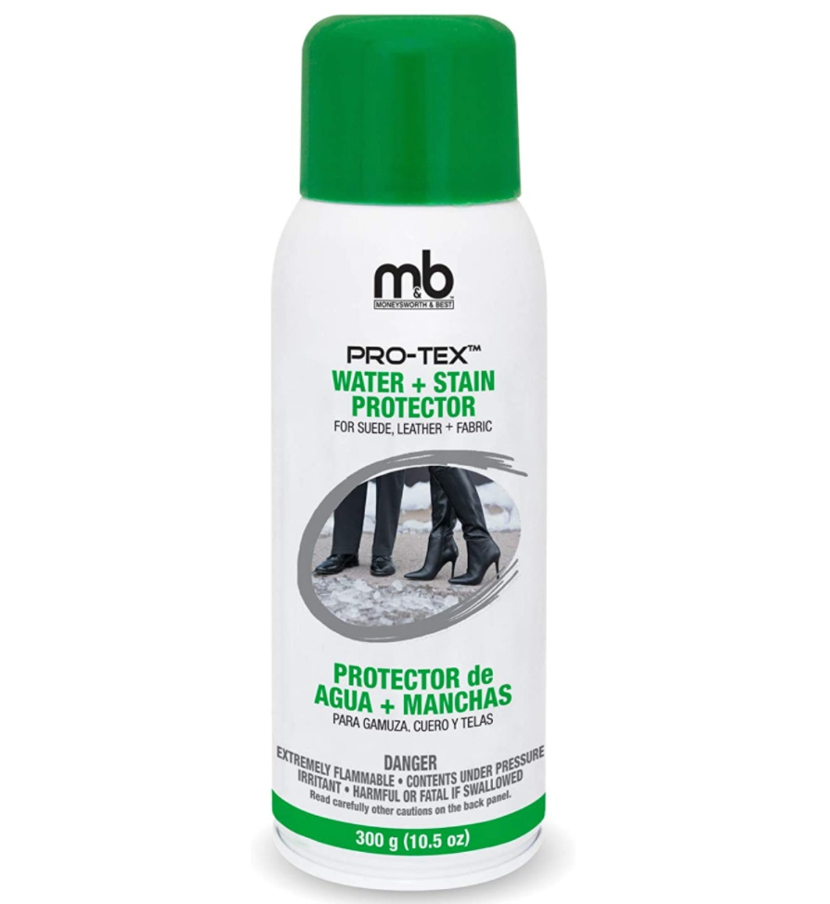 Moneysworth & Best Pro-Tex Water & Stain Shoe Protector, 10.5 Oz.