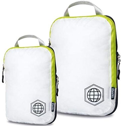 TRIPPED Compression Packing Cubes (Set Of 2)