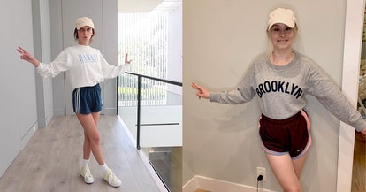 Emma Chamberlain's sporty '90s look was a pleasant surprise.