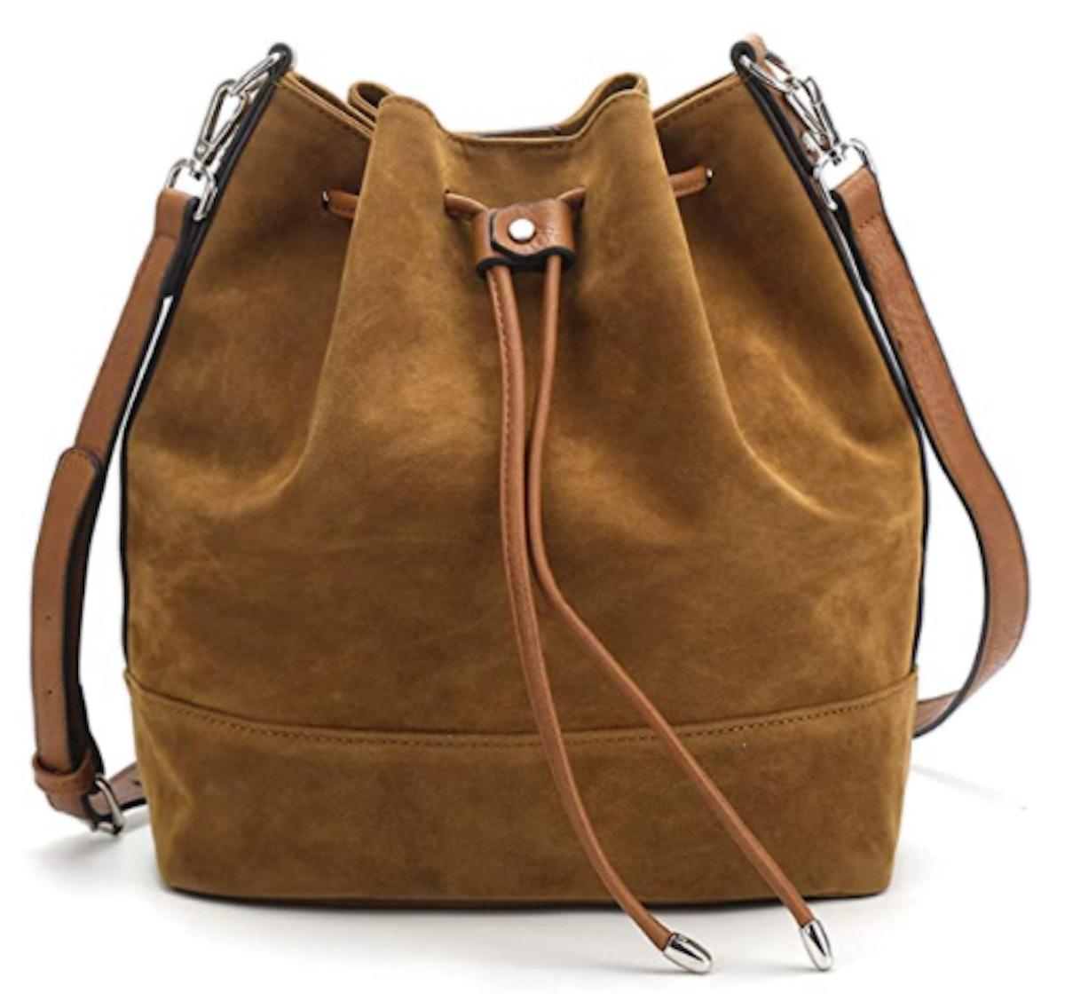 AFKOMST Drawstring Bucket Bag