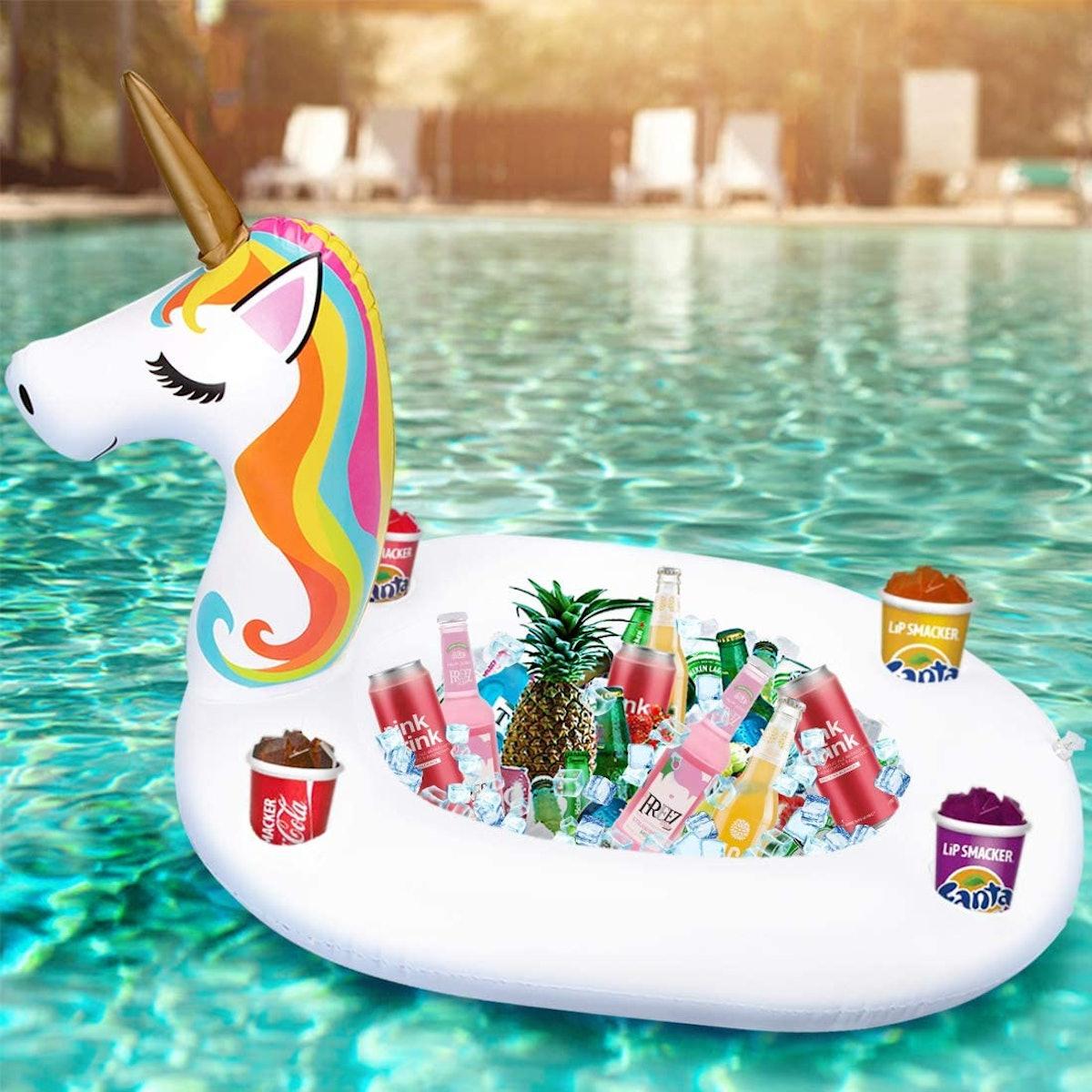90shine Inflatable Unicorn Serving Bar