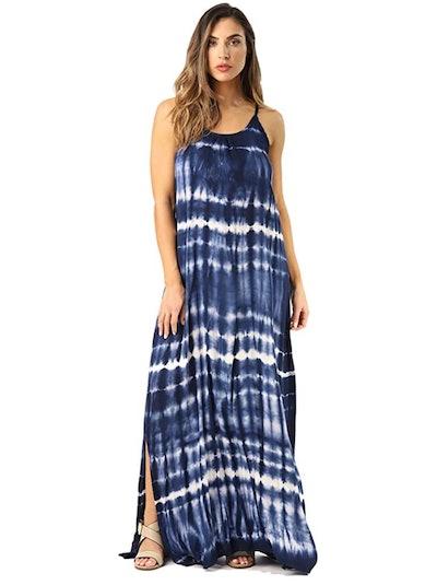 Riviera Sun Tie Dye Maxi Dress