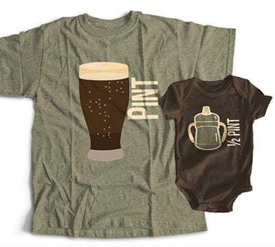 Pint & Half Pint Shirt Set