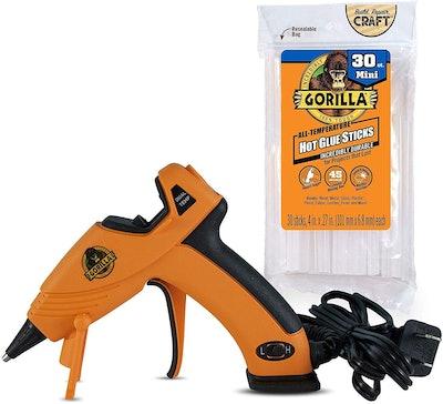 Gorilla Dual Temp Mini Hot Glue Gun