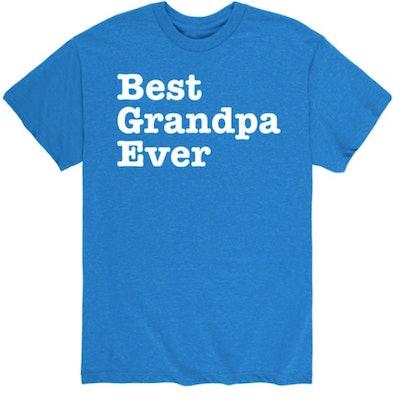 Best Grandpa Ever Shirt