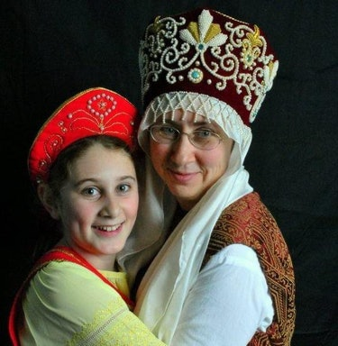 Dr. Inna Kanevsky and daughter Fay