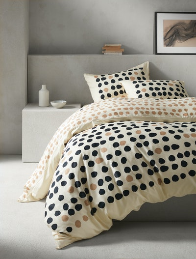 Mother or Pearl Spot Organic Cotton Duvet Set