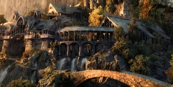 Rivendell in Lord of the Rings: Fellowship of the Ring