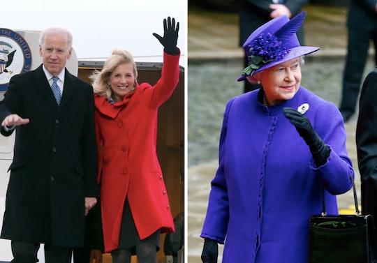 The Bidens are set to meet with Queen Elizabeth in June 2021.