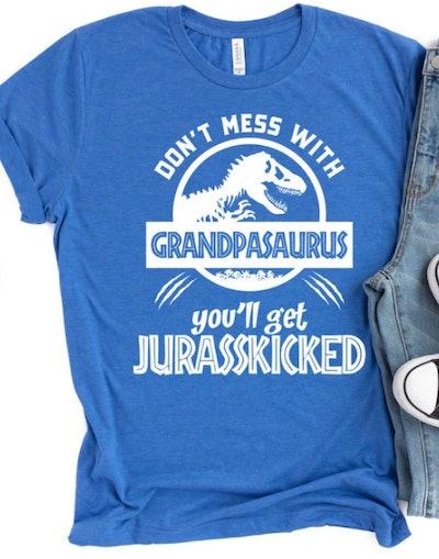 HealthyMerch Grandpasaurus Shirt