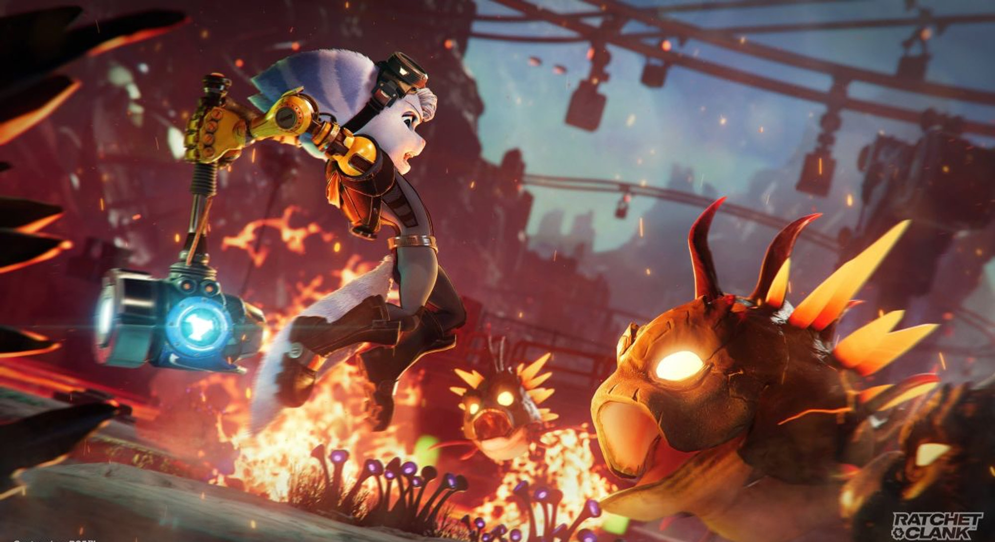 rivet jumping with hammer in ratchet and clank rift apart