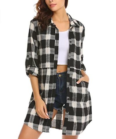 HOTOUCH Plaid Flannel Shirt