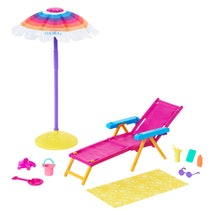 The Barbie Loves The Ocean collection features fun accessories.