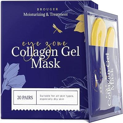 Brouger Collagen Eye Masks (20 Pairs)