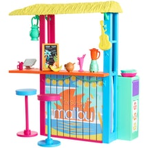 The Barbie Loves The Ocean beach shack is perfect for fun in the sun.